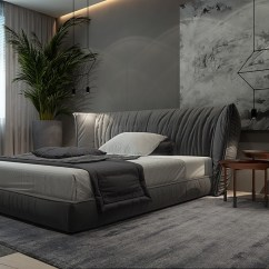 Chair Bed Stool Lounge Inspiring Examples Of Use Grey In Luxury Interior Design