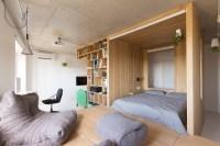 Super Small Studio Apartment Under 50 Square Meters ...