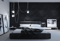 Black & White Stunning Master Bedroom Designs  Master