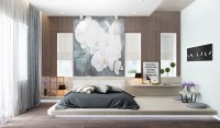 40 Low Height & Floor Bed Designs That Will Make You Sleepy