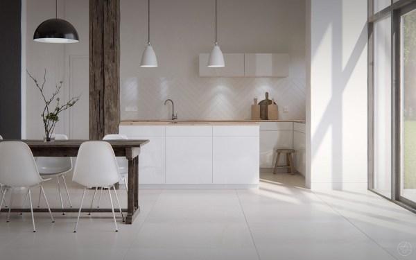 scandinavian kitchen tile designs Scandinavian Kitchens: Ideas & Inspiration