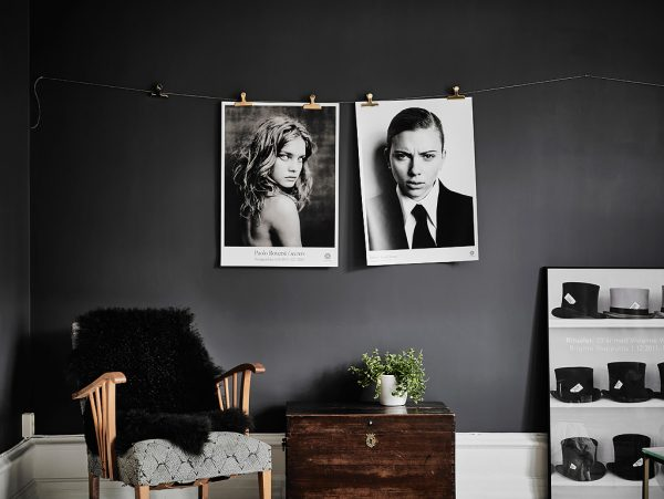 Explore two interiors verging on the dark side source entrance our first black and white scandinavian