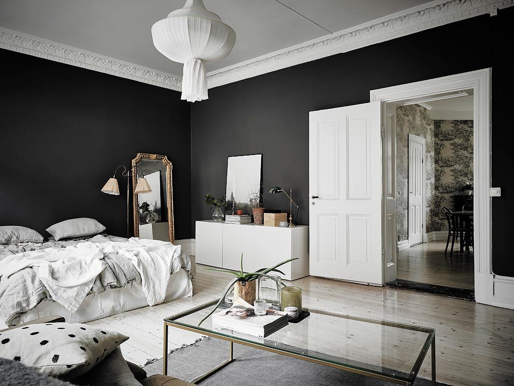 Black  White Scandinavian Interiors That Explore The Dark