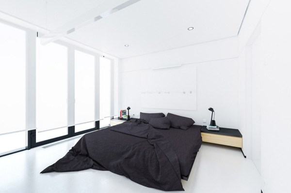 black and white minimalist bedroom ideas 40 Serenely Minimalist Bedrooms To Help You Embrace Simple Comforts