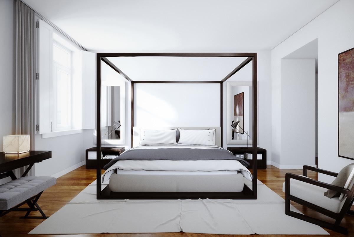 Four Poster Bedroom Sets