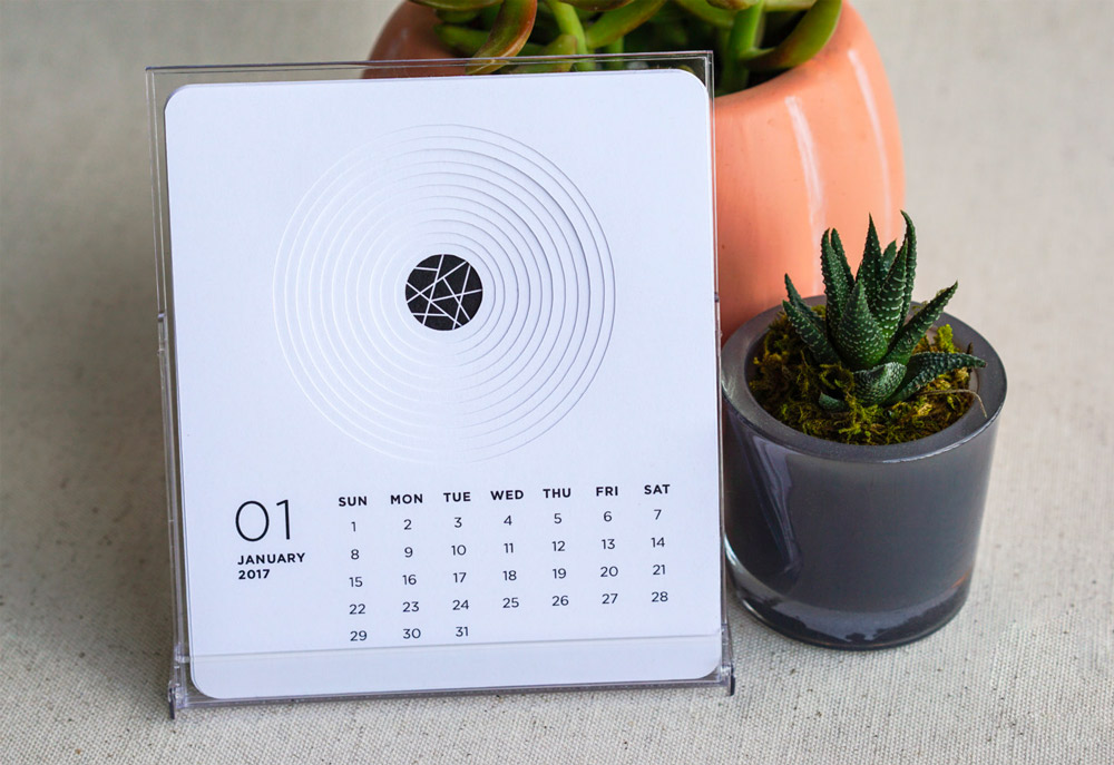 35 Unique Desk  Wall Calendars To Help You Get Ready For