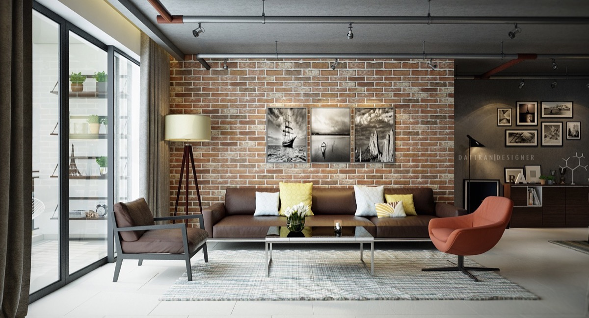ideas for a bare living room wall small interior design pictures rooms with exposed brick walls