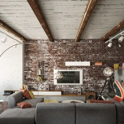 Small Living Room Ideas With Brick Fireplace How To Decorate A Large Little Furniture Rooms Exposed Walls