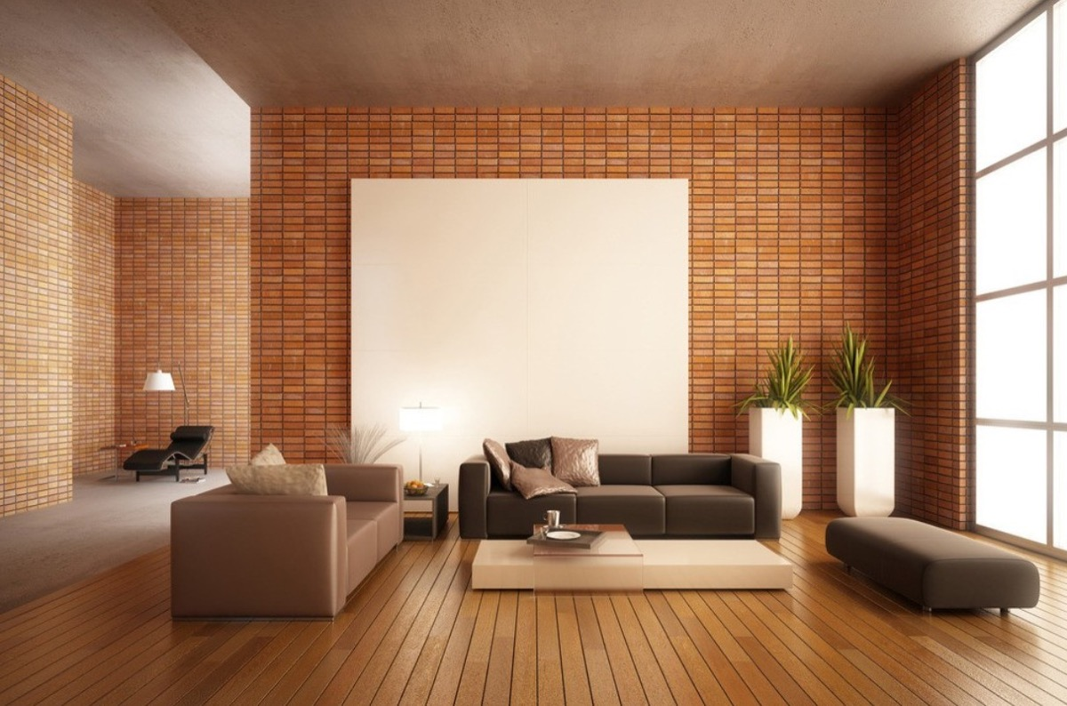 white wall decorations living room affordable designs rooms with exposed brick walls
