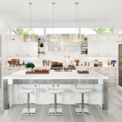 White Kitchen Floors Pan Hanger 30 Gorgeous Grey And Kitchens That Get Their Mix Right