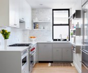 grey & white kitchens