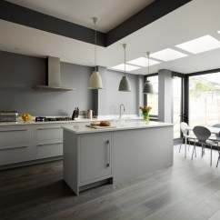 Grey Kitchen Cabinets Small Space Table And Chairs 30 Gorgeous White Kitchens That Get Their Mix Right