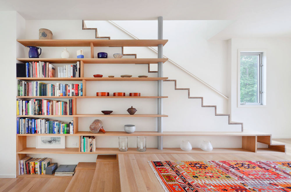 Staircase Shelf : Staircase Gallery
