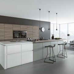 Gray Tile Kitchen Floor Cabinet Door Handles 30 Gorgeous Grey And White Kitchens That Get Their Mix Right
