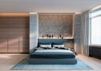 Concrete Wall Designs: 30 Striking Bedrooms That Use
