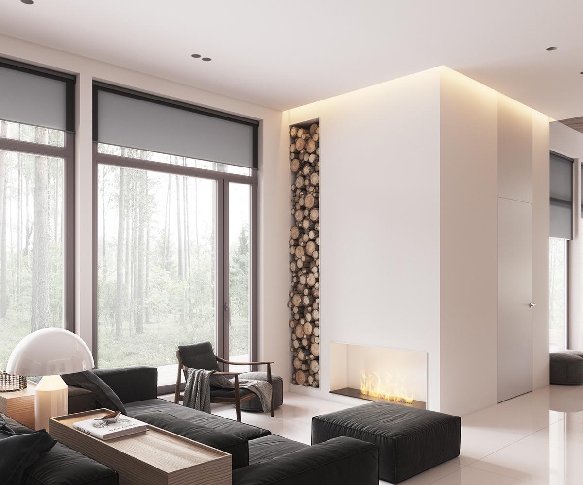 Minimalist MutedColour Home With Scandinavian Influences
