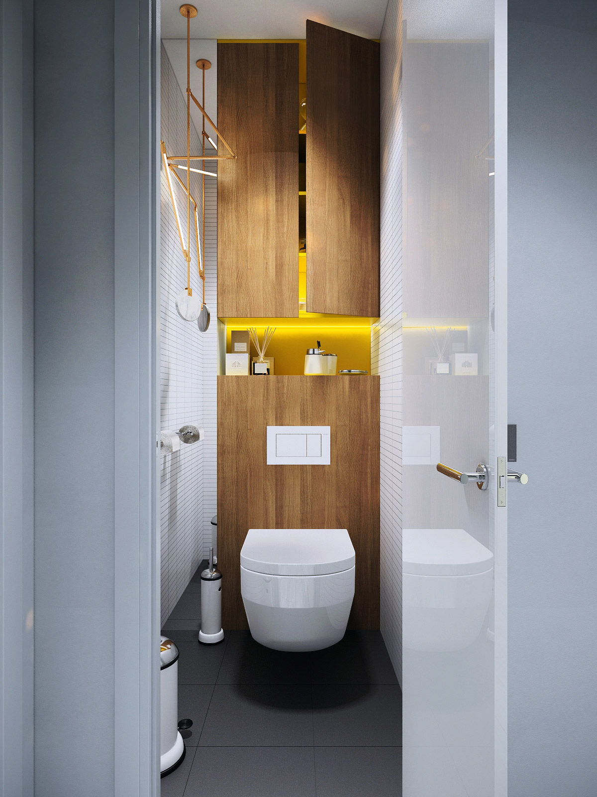 unique small bathroom