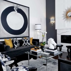 Living Room Pictures Black And White Home Decor Ideas For 30 Rooms That Work Their Monochrome Magic 17