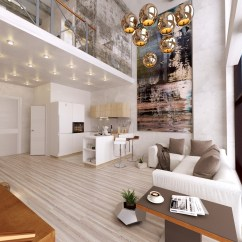 High Ceiling Living Room Decor Ideas Wall Units For Design 30 Double Height Rooms That Add An Air Of Luxury