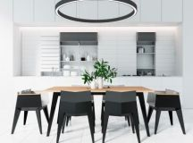 40 Minimalist Dining Rooms That Will Leave You Hungry to Copy Their Style images 40