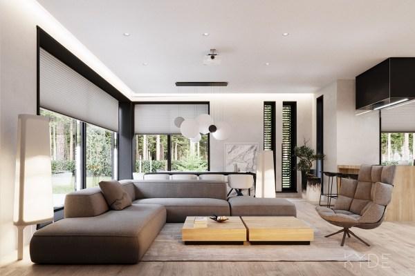 Natural Modern Interior Designs