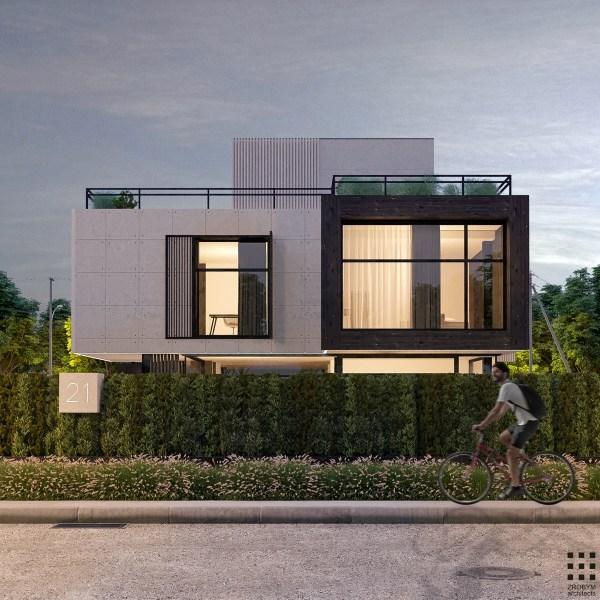 Modern Exterior Windows Design