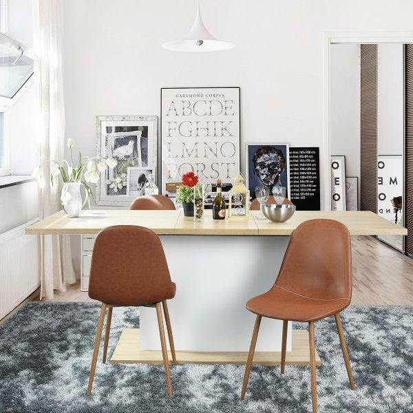 modern leather dining chairs with arms best office for back pain 50 to set your table style affordable buy it