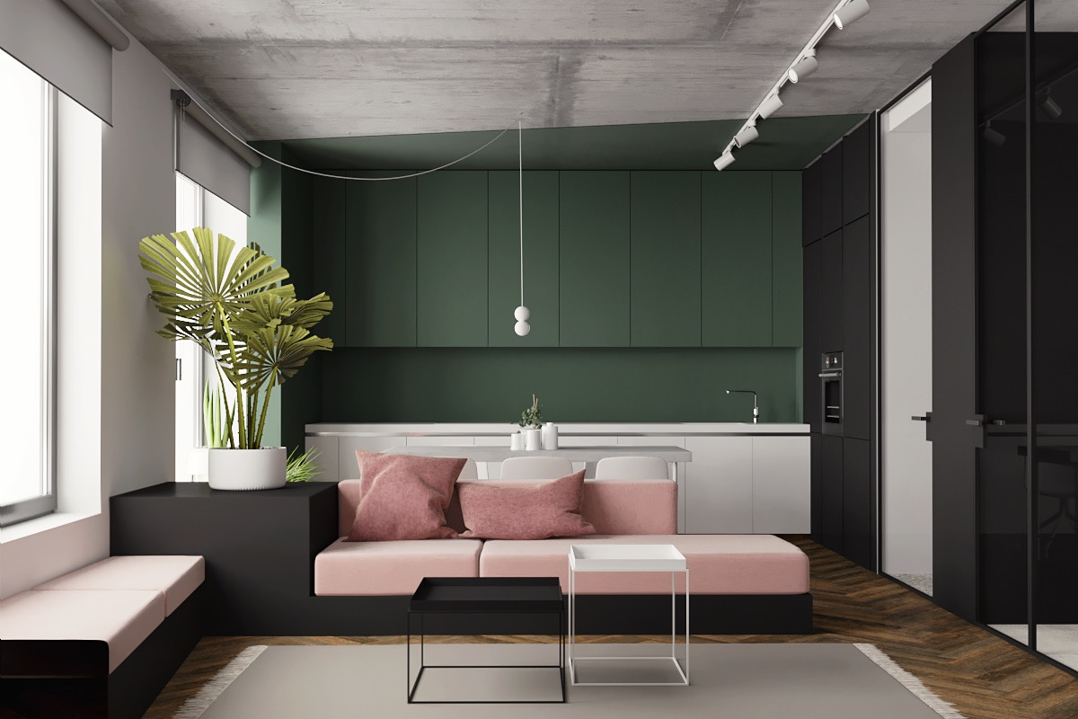 living room furniture for studio apartments decorating with floating shelves 5 inspiring modern decor themes