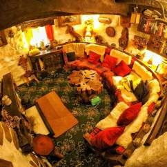 Interior Designing For Living Room Wall In A Gorgeous Real World Hobbit House Scotland