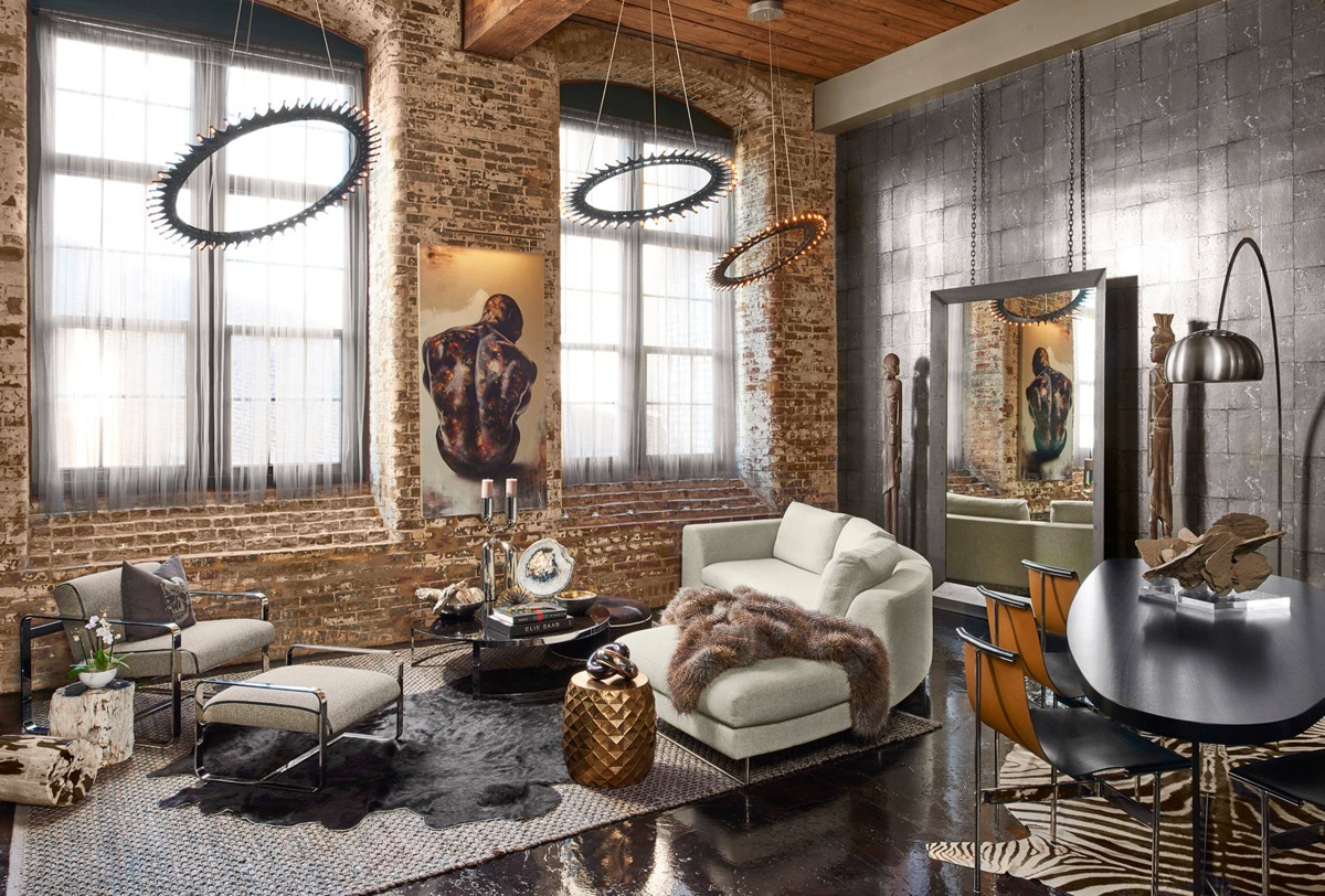 industrial style living room furniture large artwork for design the essential guide 34