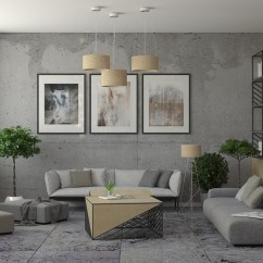 Industrial Living Room Furniture What Color Should You Paint Your With Brown Style Design The Essential Guide