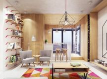A Luxurious Home Interior with Pretty, Muted Pastel Colors images 42