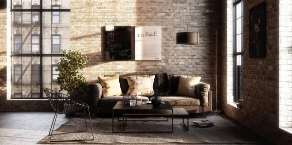 industrial design living room furniture Industrial Style Living Room Design: The Essential Guide