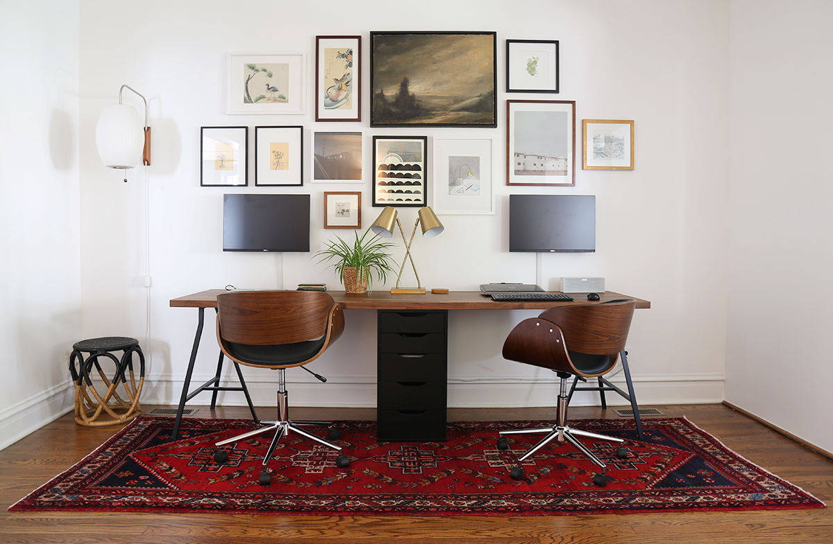 Office Desk For 2 36 Inspirational Home Office Workspaces That Feature 2