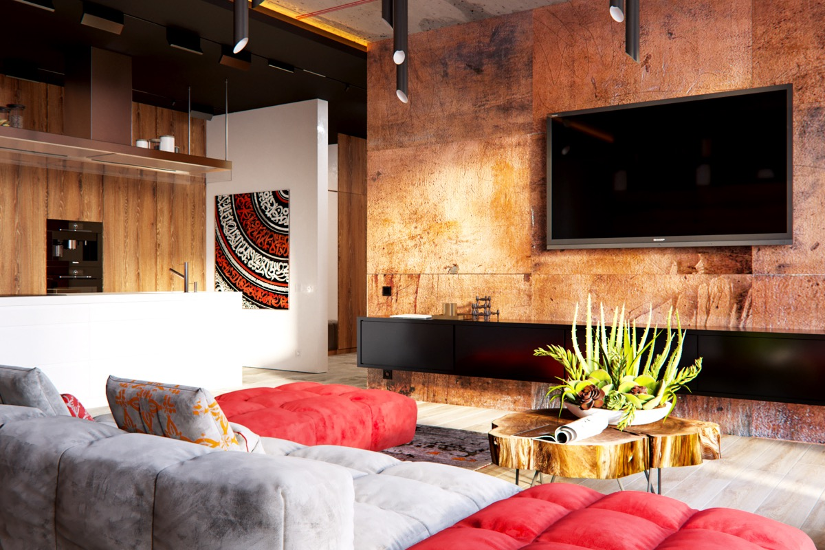 3 Modern Apartment Interiors That Masterfully Demonstrate