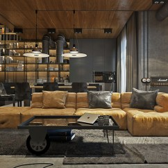 Industrial Style Living Room Furniture Sectional Couch Ideas Design The Essential Guide 3