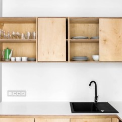 Plywood Kitchen Cabinets European Kitchens 3 Light And Bright Apartments Celebrating White Space