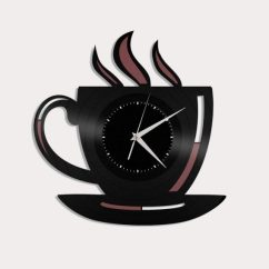 Kitchen Wall Clocks Cost Of Remodeling A 40 Beautiful That Make The Where Heart Is Buy It Tea Cup Clock