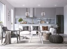 Two Large Scandinavian Style Homes For Young Families images 24