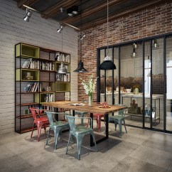 Industrial Style Dining Chairs Dwell Posture Chair Room Design The Essential Guide