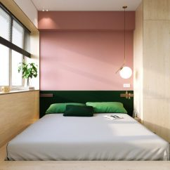 Decor For Small Apartment Living Room Design Wood Floors Super Compact Spaces: A Minimalist Studio Under ...