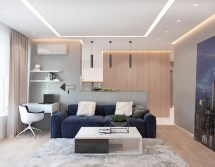 2 Bedroom Apartments With Modern Color Schemes