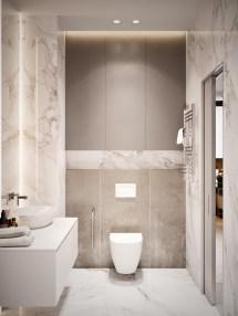 Small Square Bathroom