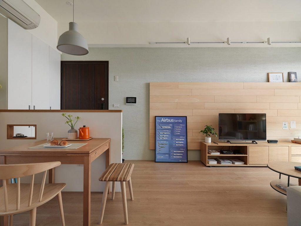 2Bedroom Modern Apartment Design Under 100 Square Meters