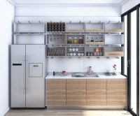 Open Kitchen Shelving: 40 Classy Examples That Show How ...