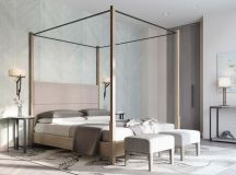 A Luxurious Home Interior with Pretty, Muted Pastel Colors images 31