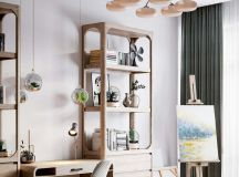 A Luxurious Home Interior with Pretty, Muted Pastel Colors images 27
