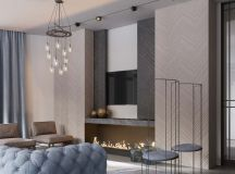 A Luxurious Home Interior with Pretty, Muted Pastel Colors images 4