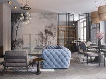 Beautiful home interiors rendered by Dmitry Kobtsev