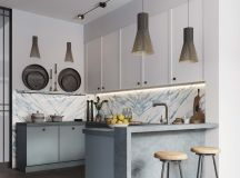 A Luxurious Home Interior with Pretty, Muted Pastel Colors images 7